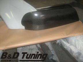 Carbon headlight cover 2