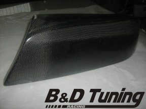 Carbon headlight cover e46