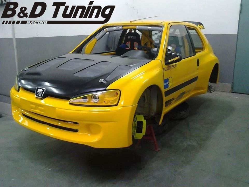 peugeot 106 ph2 bd tuning racing. Black Bedroom Furniture Sets. Home Design Ideas