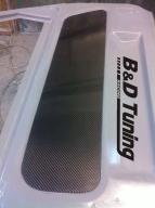 Door carbon panel