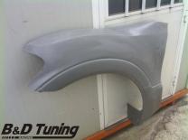 Front fender detailed