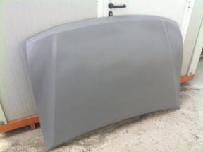 Front hood detailed