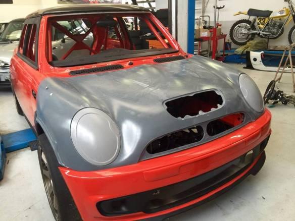 Front hood