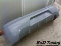 Rear bumper detailed