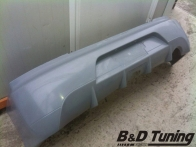 Rear bumper detailed