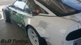 Rear side panel complete