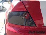 Tail light carbon cover