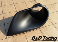 Air intake headlight 8