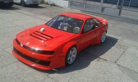 nissan s14 red