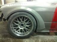 front fender installed