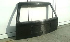 Rear hood detailed