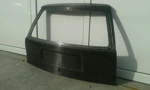 Rear hood
